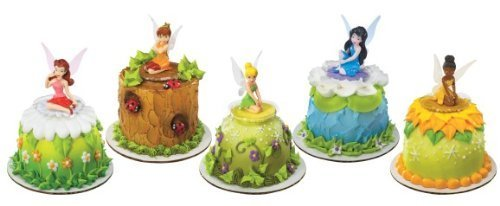 Disney Fairies Tinkerbell Amigos Cake Topper Set 6 Figuras ...
