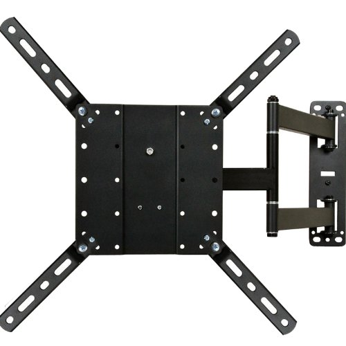 """Videosecu Long Arm Full Motion Articulating Cantilever Swivel & Tilt Tv Mount Wall Bracket For Most 26""""-47"""" And Some Up To 55"""" Fits Vesa 400X400 400X300 400X200 300X300 200X200 Lcd Led Plasma 3D Television And Display With Removable Mount Adaptor Plate -"""