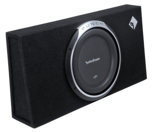 Rockford Fosgate Punch P3L-S12 Shallow Single P3S 12-Inch Pre-Loaded Enclosure
