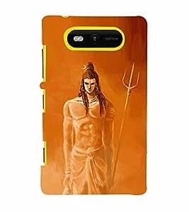 Shrikantha 3D Hard Polycarbonate Designer Back Case Cover for Nokia Lumia 820 :: Microsoft Lumia 820