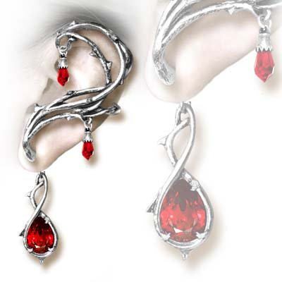 Passion Earring by Alchemy Gothic, England