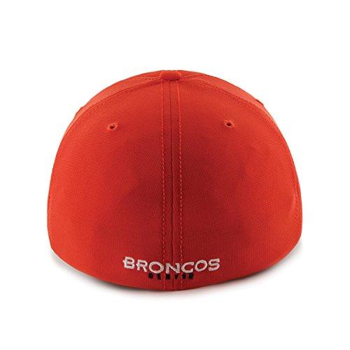 Hot NFL Denver Broncos '47 Brand Game Time Closer Stretch Fit Hat, Orange, One Size Stretch