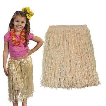 Natural Kiddie Hula Skirt