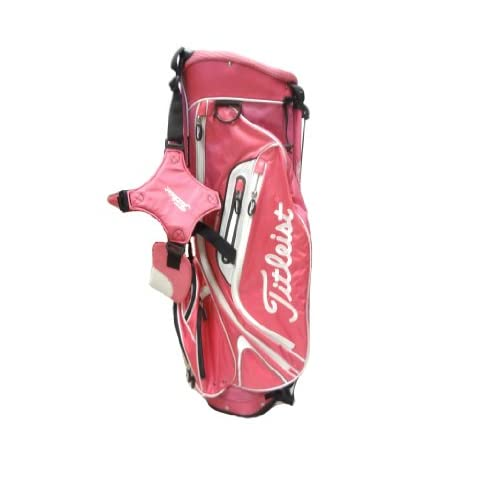 Amazon.com : NEW Titleist Lightweight Stand Bag Pink/White TB3SX6-9