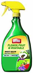 Ortho 0331320 Flower Fruit and Vegetable Insect Killer, 32-Ounce