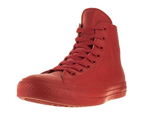 Converse Unisex Chuck Taylor All Star Hi Red Basketball Shoe 9.5 Men US / 11.5 Women US