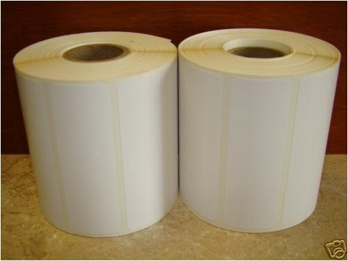 2 Rolls 1375 1.5x1 Direct Thermal UPC Bar Code Zebra 2824 Labels