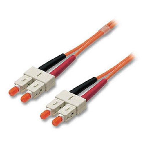 Lindy LWL Patchkabel 62.5µ Patchkabel Duplex SC / Stecker – SC / Stecker Duplex 10.0 m