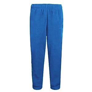 Tectop - Pantalon de sport enfants Polaire Longue Jogging Unisexe Hiver Chaud - 9-10ans - Bleu