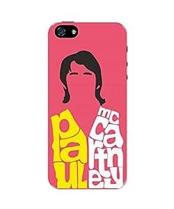 PosterGuy iPhone 5 / 5S Case Cover - Paul Mccartney Typography   Beatles Pop Art