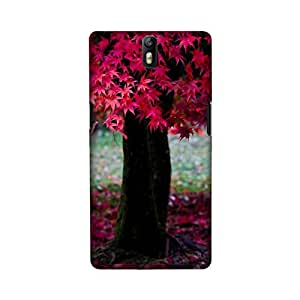 StyleO OnePlus One designer case and cover printed back cover Pink Tree