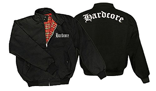 Hardcore giacca Harrington nero XL