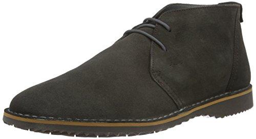 Geox U Zal C, Stivali Desert Boots Uomo, Grigio (Graphitec1115), 43 EU