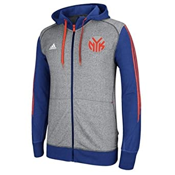 New York Knicks Adidas 2013 Pre-Game Full Zip Hooded Jacket XL by adidas