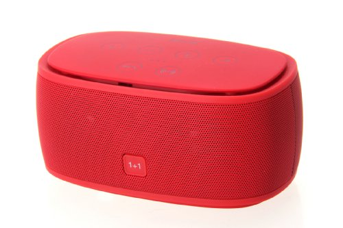 Cheerlink® Bluetooth 3.0 Nfc Speaker,3D Surround Sound,Ultra Bass Booster,Crystal-Clear Sound, Sub Woofer Sound Affect, With Built-In Mic For Use As A Powerful Handsfree Speakerphone,Compatible With All Bluetooth Devices, Apple Iphone 5/5S/5C Siri,Samsung