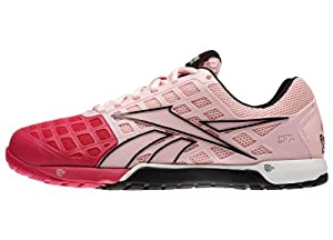 Reebok Women's Nano 3.0 Shoe Pink/White/Black Size 7.5