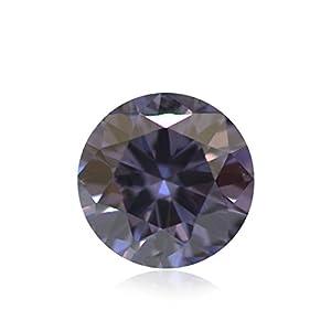 0.17 Carat Argyle Fancy Deep Blue Violetish Loose Diamond Natural Color GIA
