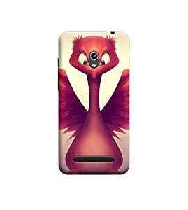 Ebby Premium Printed Back Case Cover With Full protection For Asus Zenfone 5 (Designer Case)