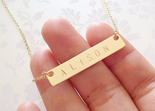 изделия ручной работы Personalized Necklace Name