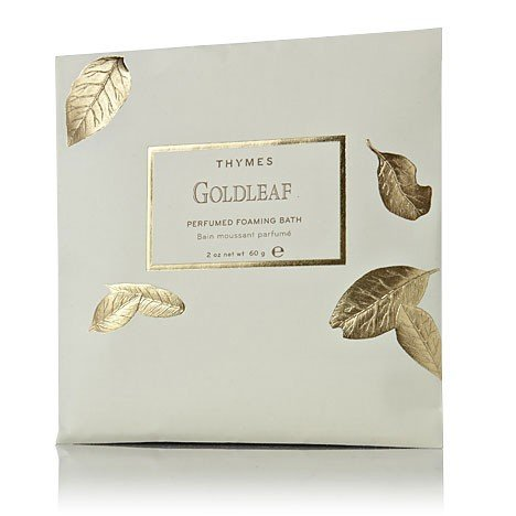 Thymes Goldleaf Foaming Bath Envelope - Natural Body Hand (Thymes Bath Salts compare prices)