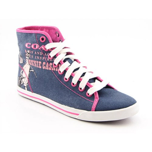COACH Ariane Happy Grl Sneakers Shoes Blue Womens