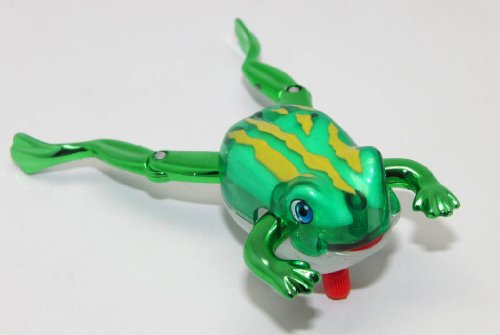Tomy Z Wind Ups Toy Froggy Frog - 1