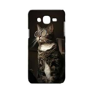 BLUEDIO Designer 3D Printed Back case cover for Samsung Galaxy A7 - G6796