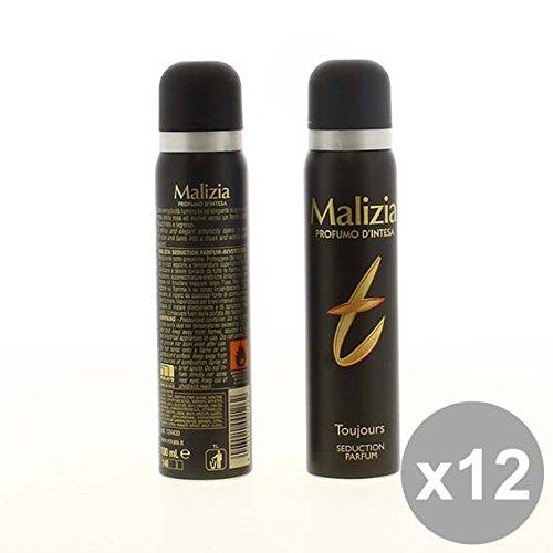Set 12 MALIZIA Deodorante Donna Spray 100 Toujours Deodoranti per il corpo