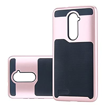 AutumnFall 2-Piece Style Hybrid Shockproof Hard Case Cover for ZTE Z981