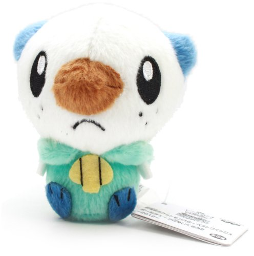 Banpresto Pokemon Best Wishes Movie Plush Ball Chain 2012 - 47937 - Oshawott/Mijumaru - 1