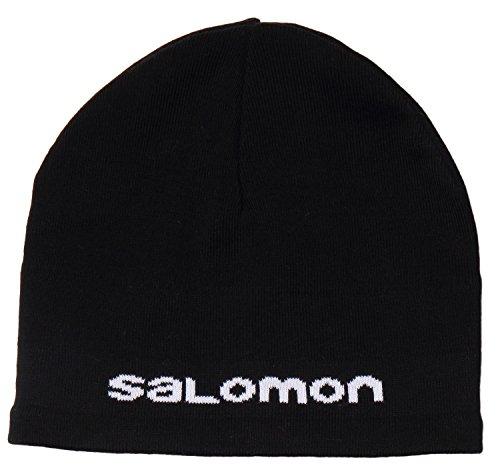 Salomon Salomon Beanie - Cappello da uomo, colore Nero, taglia OSFA