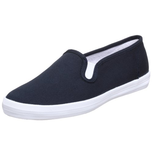 keds s chion basic canvas slip on white tennis