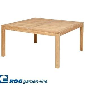 Tl8117 teak tisch harvard fest quadratisch for Amazon tisch