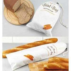Bread & Baguette Storage Bags - Twin Pack