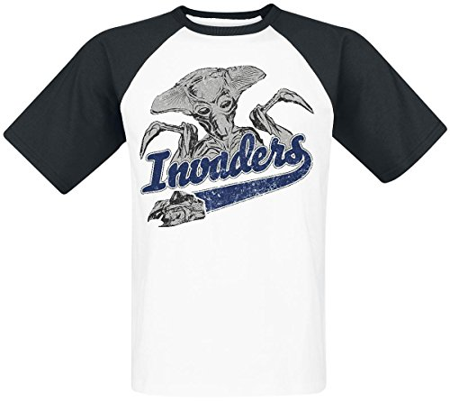 Independence Day Invaders T-Shirt nero/bianco L