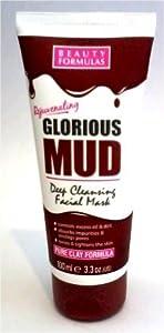Beauty Formulas Mud Facial Mask, 100ml