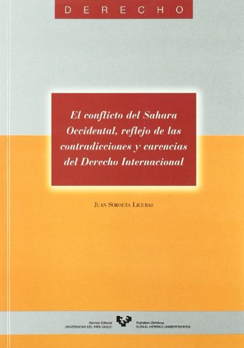 Conflicto del sahara occidental, el