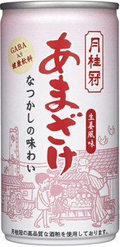 月桂冠 甘酒 生姜風味 GAVA入り健康飲料 190g×30缶 1ケース