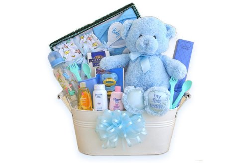 The Works Baby Gift Basket