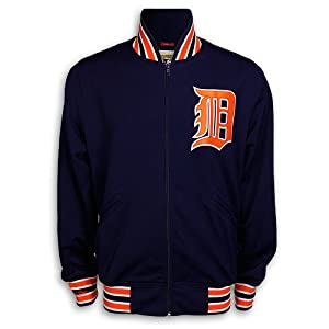 Detroit Tigers 1991 Full-Zip Track Jacket by Mitchell & Ness by Mitchell & Ness