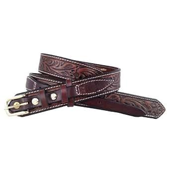 santa fe leather co s 655r ranger belt grain