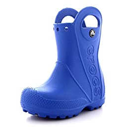 Crocs Handle It Toddler Kids Rainboot (9, Blue)