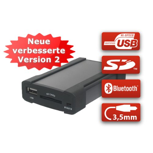 XCarLink-2-USB-SD-AUX-MP3-Wechsler-KFZ-Auto-Radio-Music-Interface-Adapter-fr-Peugeot-RD3-Citroen-RD3