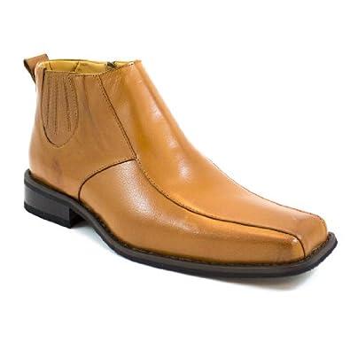 Zota Men's Genuine Rust Leather European Style Designer Dress Shoes 76666
