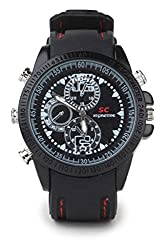 Krazzy Collection ACP4GBsportywatch 5 MP Spy Camera (Black)