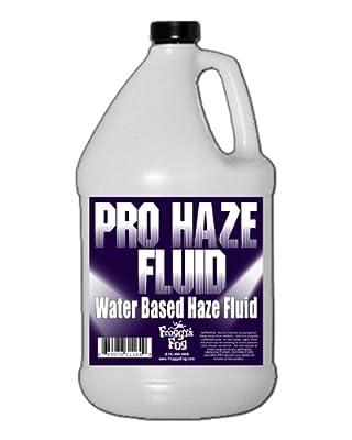 Froggys Fog Pro Haze Juice Fluid - Water Based - Gallon from Froggys Fog