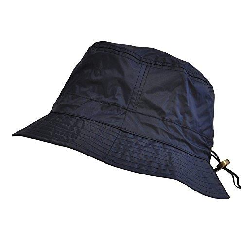 Toutacoo, Adjustable Waterproof Bucket Rain Hat in Nylon 03-Blue (Bucket Hat Rain compare prices)