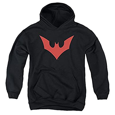 Batman Beyond Beyond Bat Logo Youth Pull Over Hoodie
