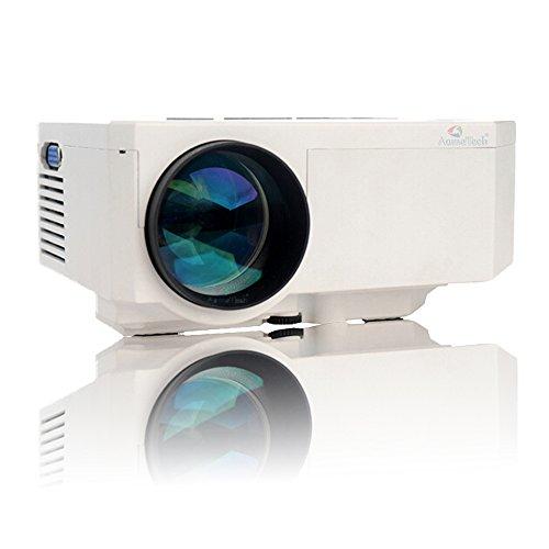 "Aometech Uc30 100"" Hd 150 Lumens Hdmi Portable Mini Led Projector Home Cinema Theater Av Vga Usb Sd Miscro Usb"