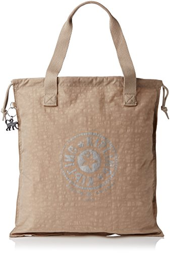 Kipling Women's New Hiphurray Tote Caffe Latte